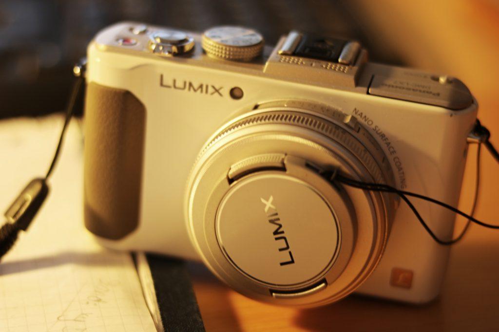 Reisekamera Kompaktkamera Lumix LX7