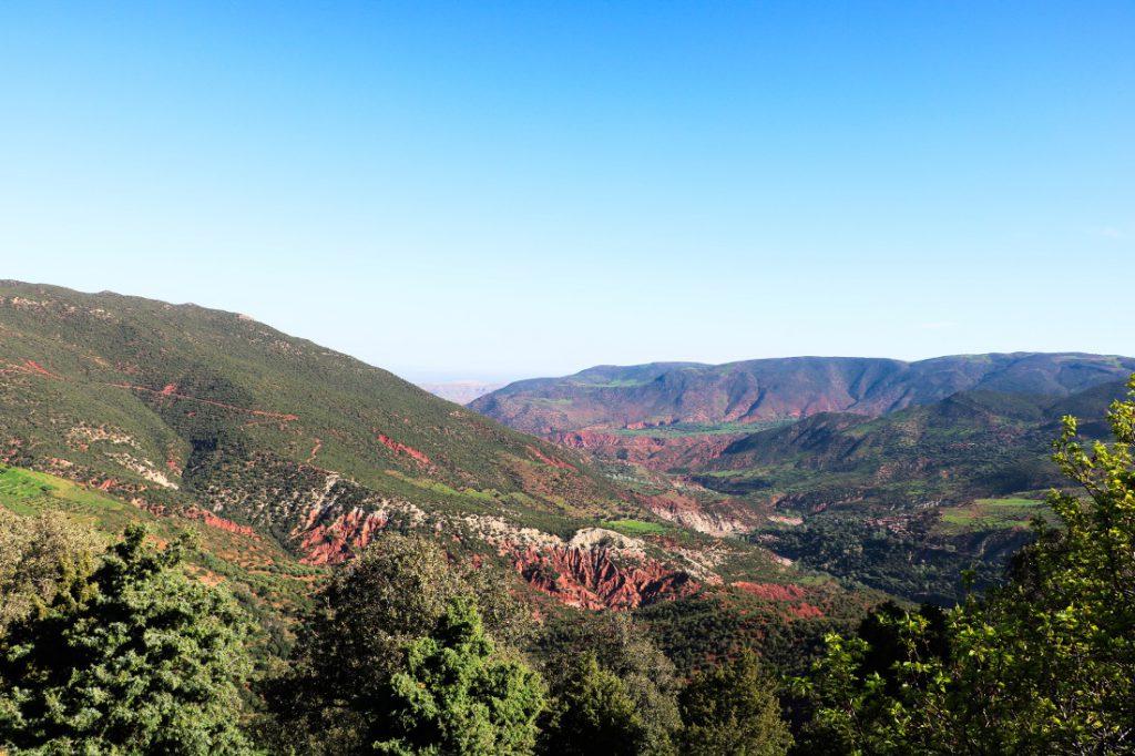 Marokko Merkmale Landschaft