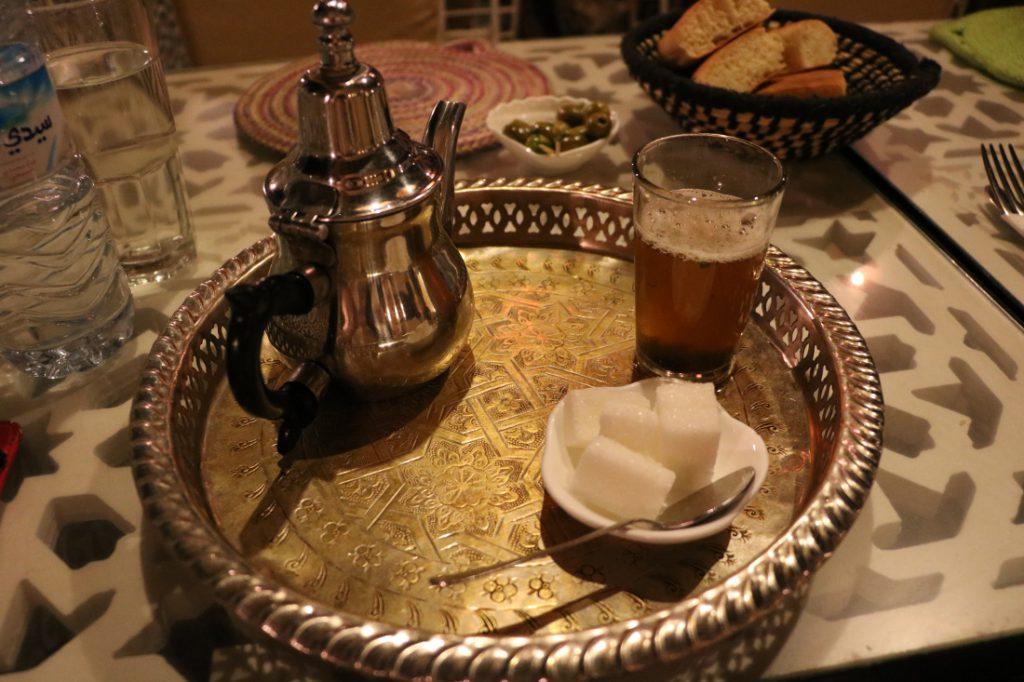 Marokko Merkmale Pfefferminztee