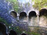 Sintra Quinta da Regaleira Brunnen Wendeltreppe
