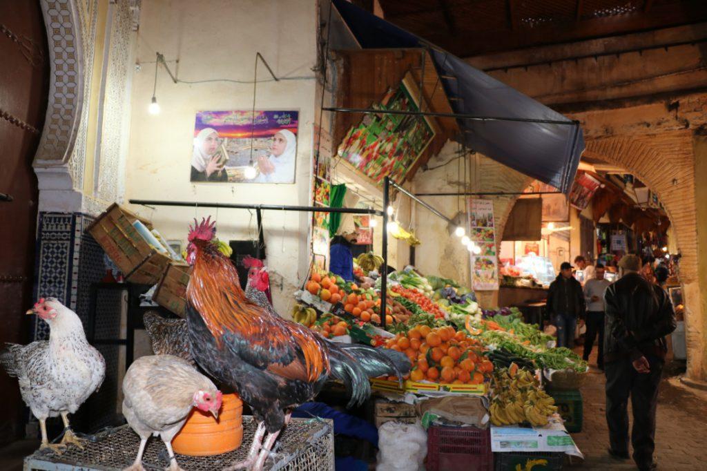 Marokko Merkmale Souk