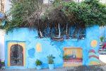 Wandmalerei in Tanger