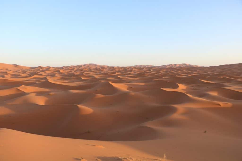 Marokko Merkmale Wüste Sahara