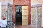 Marrakesch Medina Tür