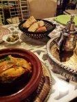 Marrakesch Essen Tajine und Pfefferminztee