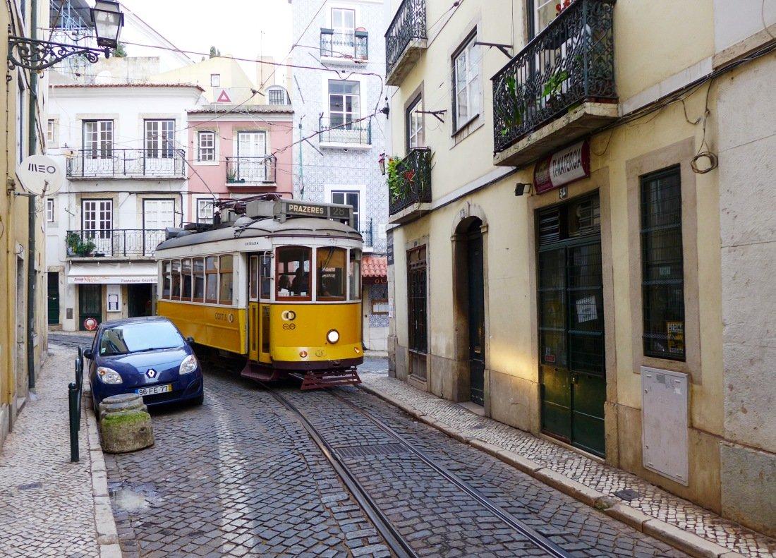 Gutes Hostel Lissabon Lage