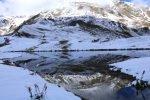 Georgien Swanetien Wanderung Koruldi Lakes
