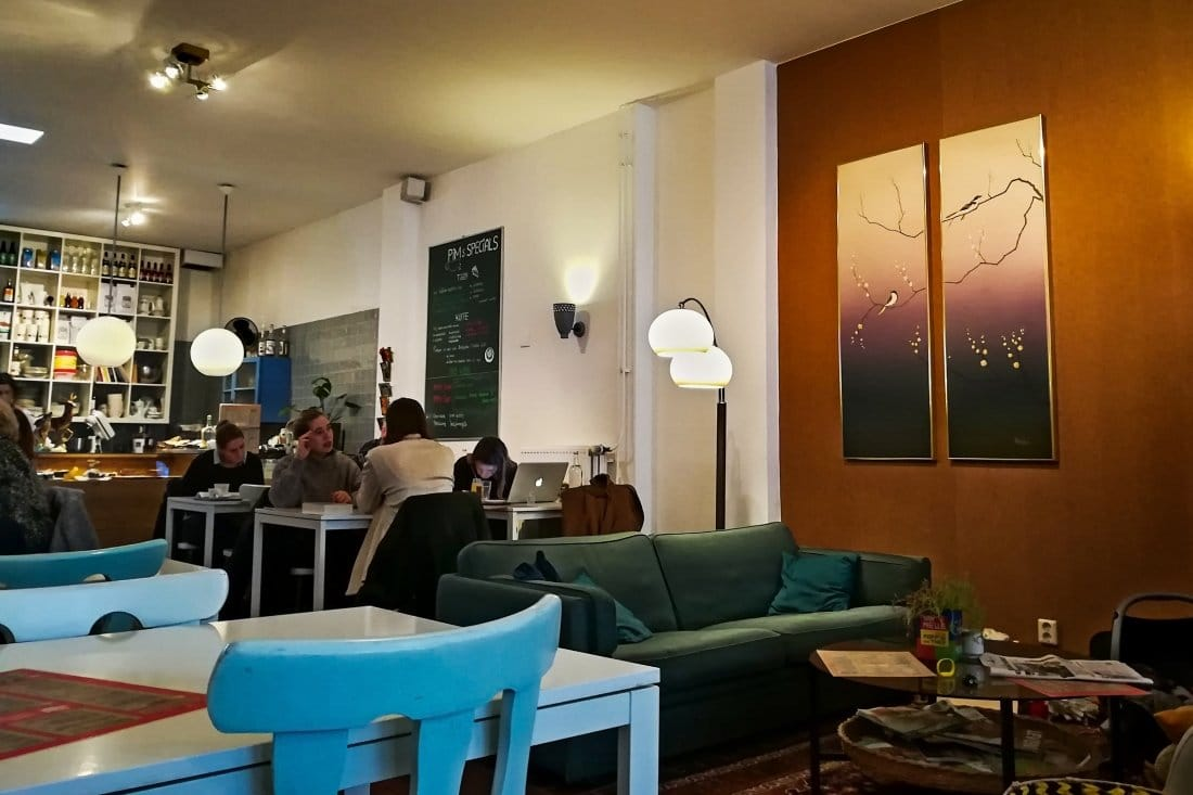 Reise nach Holland Cafés