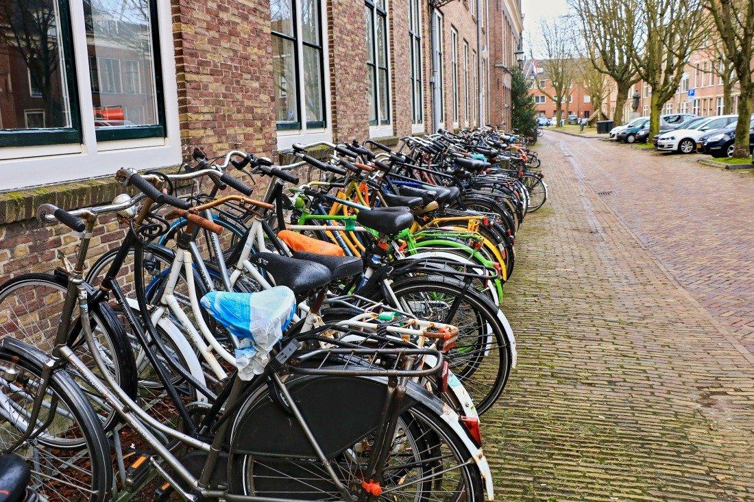 Reise nach Holland Fahrräder