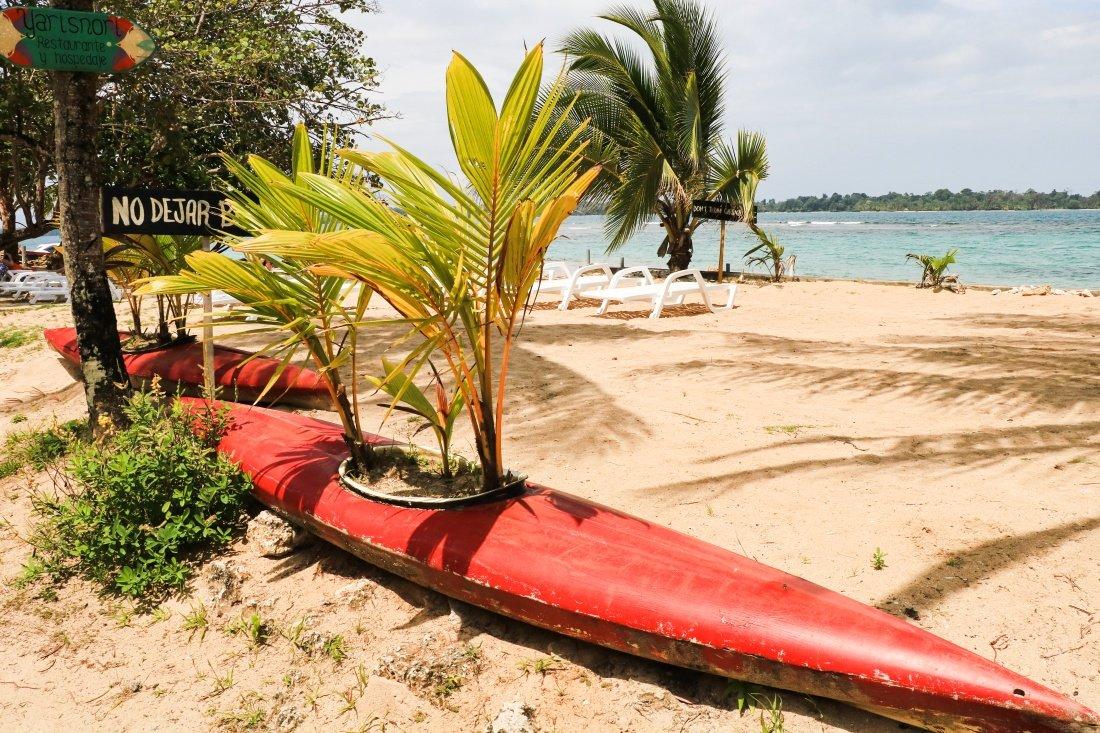 Bocas del Toro Panama Isla Colon Strände