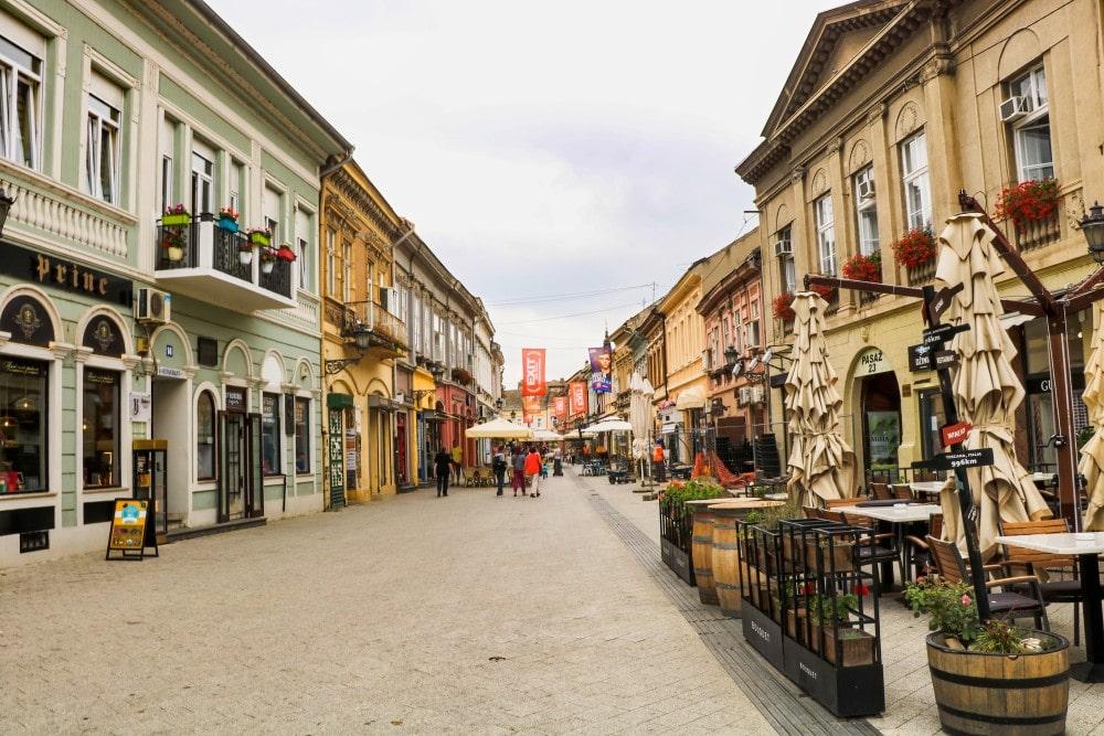 Novi Sad Kulturhauptstadt Altstadt