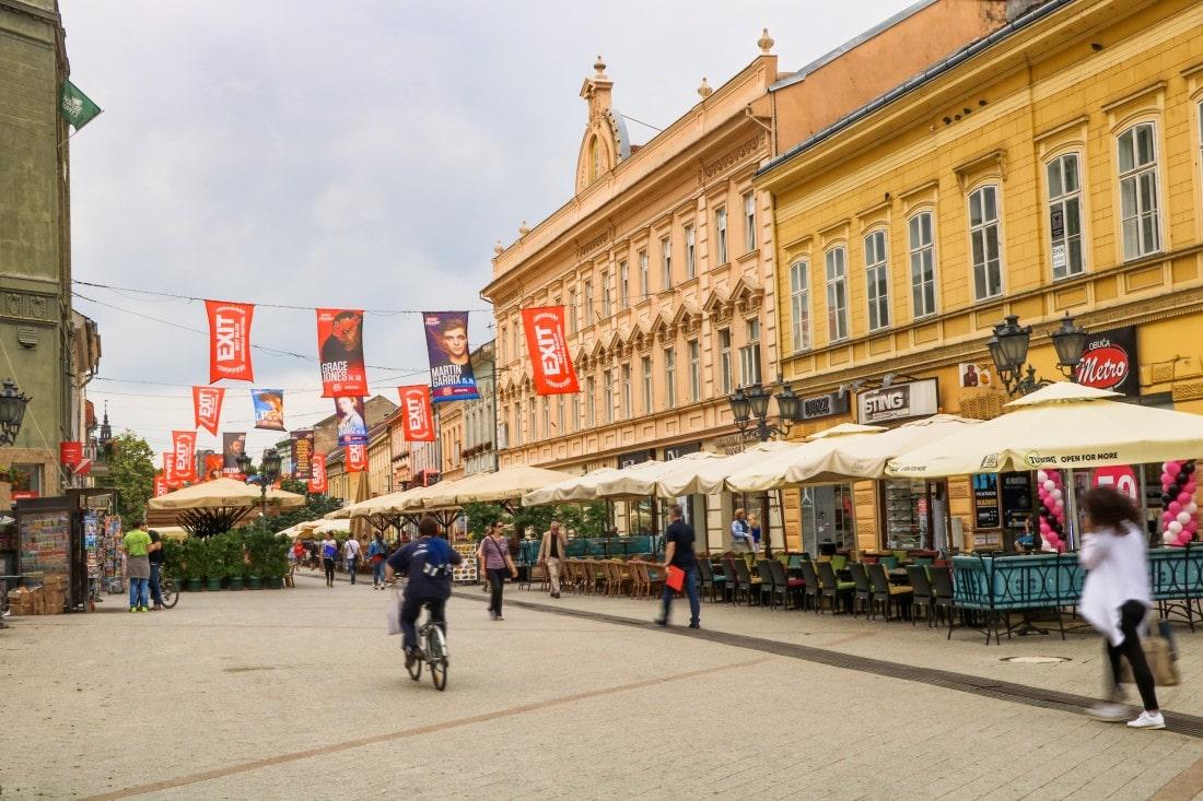 Novi Sad Kulturhauptstadt Exit