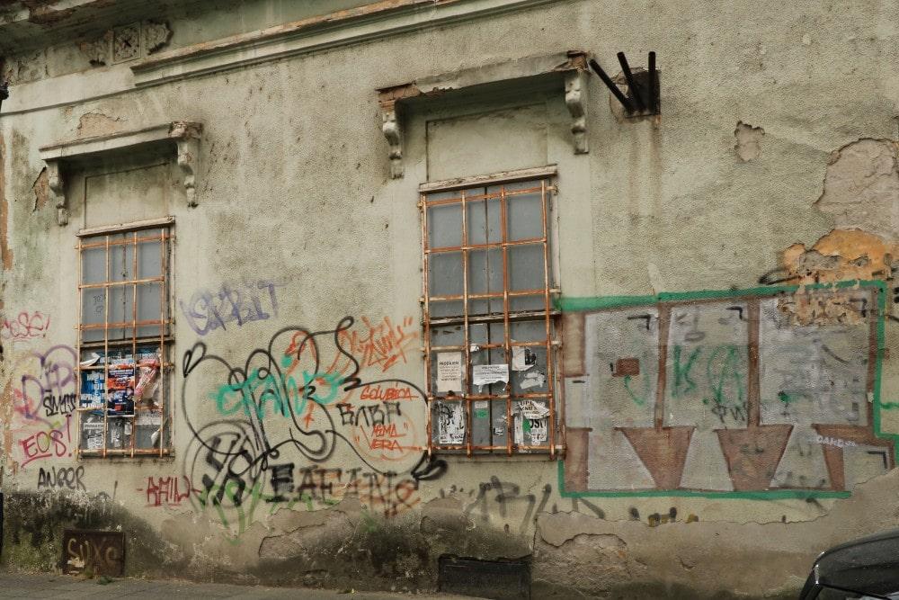 Novi Sad Kulturhauptstadt Tristesse Graffity