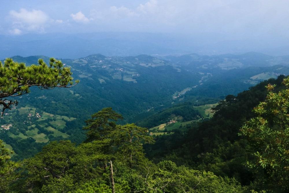 Tara Nationalpark Tara Gebirge Aussichtspunkt