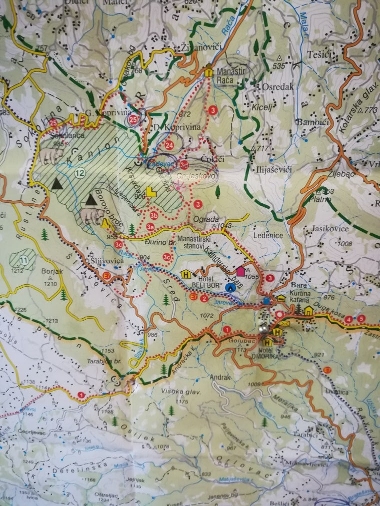 Tara Nationalpark Wanderungen