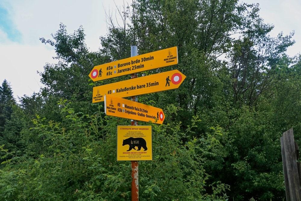 Tara Nationalpark Wanderung