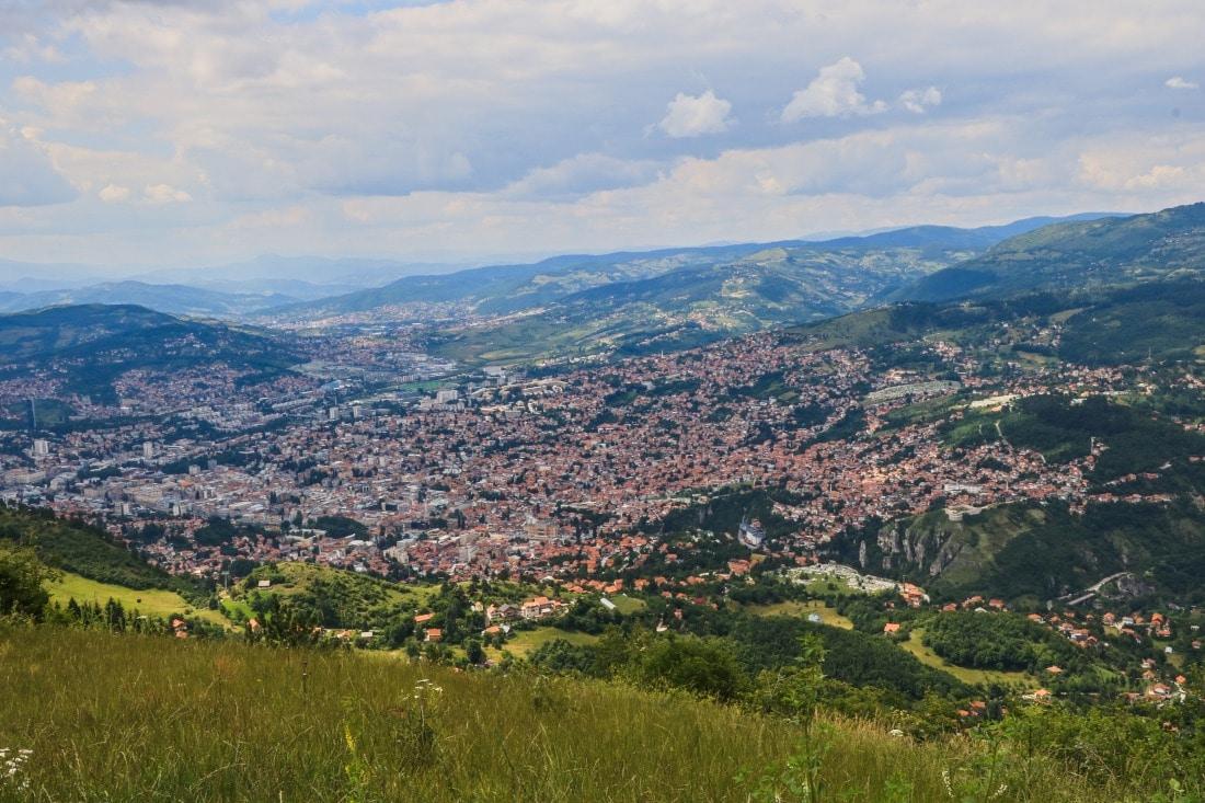 Bosnien Herzegowina Sarajevo under the Siege