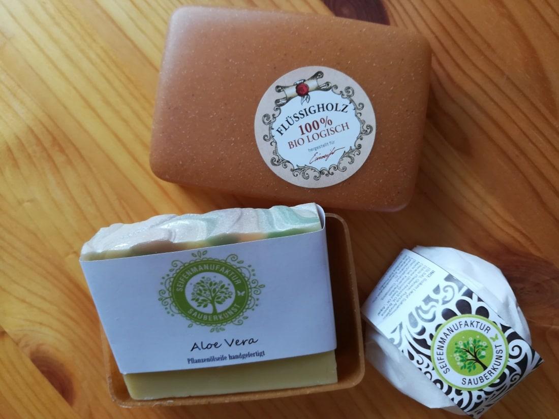 festes shampoo seife nachhaltge reisekosmetik platzsparend packen